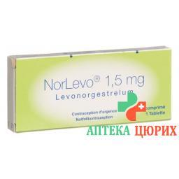 НорЛево 1,5 мг 1 таблетка
