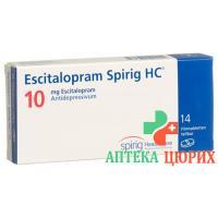 Эсциталопрам Спириг10 мг 14таблеток покрытых оболочкой