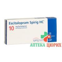 Эсциталопрам Спириг10 мг 28таблеток покрытых оболочкой