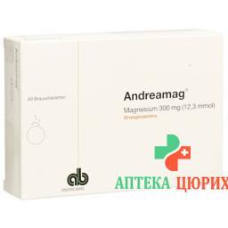Andreamag 300 mg Orangenaroma 60 Brausentabletten