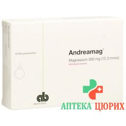 Андреамаг 300 мг малиновыйаромат60шипучих таблеток