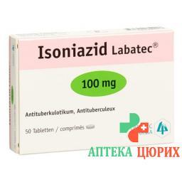 Изониазид Лабатек 100 мг 50 таблеток