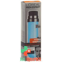 L'Oreal Men Expert Hydra Energy Extreme Feuchtigkeits-Fluid fur Den 3-Tage-Bart 50мл