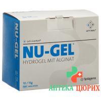 Nu гель Hydrogel mit Alginat 10x 15г
