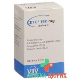 3ТС150 мг 60 таблеток покрытых оболочкой