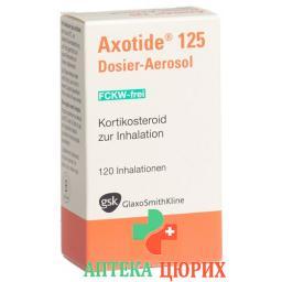 Аксотид 125 мкг дозирующий ингалятор 120 доз
