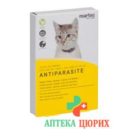 Martec Pet Care Vlies-Halsband Antiparasite Katzen