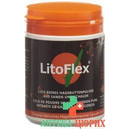 LitoFlex Hagenbuttenpulver порошок 125г