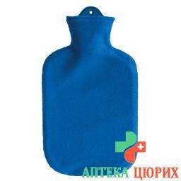 Saenger грелка 2л Fleecebezug Blau
