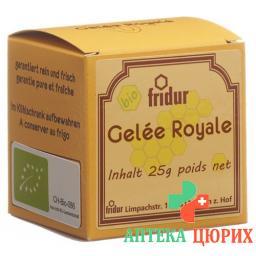 Fridur Bio-gelee-royale Glas 25г