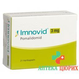 Имновид 3 мг 21 капсула
