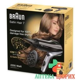 Braun Satin Hair Haartrockner 7 Hd 730 Diffusor