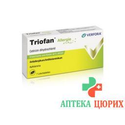 Триофан от аллергии 7таблеток для рассасывания