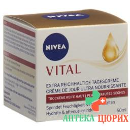Nivea Vital Extra Reichhaltige Tagescreme 50мл