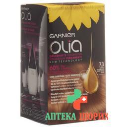 Olia Haarfarbe 7.3 Dunkles Goldblond