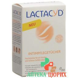 Lactacyd Intimpflegetucher 10 штук
