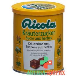 Рикола Травяные сахарные пастилки 100 г