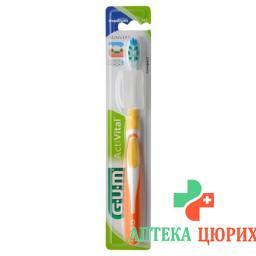 Gum Sunstar Activital Zahnburste Compact Medium