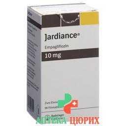 Джардинс 10 мг 90таблеток покрытых оболочкой