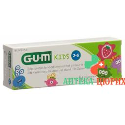 Gum Sunstar Kinder Zahnpasta Erdbeer 50мл