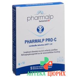 Pharmalp Pro-c Probiotika в капсулах 10 штук