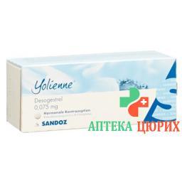 Йолиен 6 X 28 таблеток покрытых оболочкой