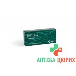 Ливиал 2,5 мг 3 × 28 таблеток