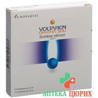 Вольтарен Офта СДУ глазные капли 10 монодоз по 0,3 мл