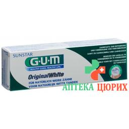 Gum Sunstar Zahnpaste Original White 75мл