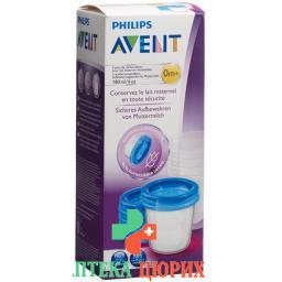 Avent Philips Via Aufbewahrbech 180мл 5bech, 5deck