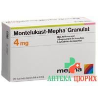 Монтелукаст Мефа гранулы 4 мг 28 пакетиков