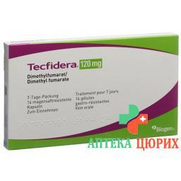 Текфидера 120 мг 14 капсул