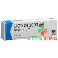 Лиотон 1000 гель 100 г