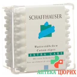 Schaffhauser Wattestachen Baby Extra Care 56 штук