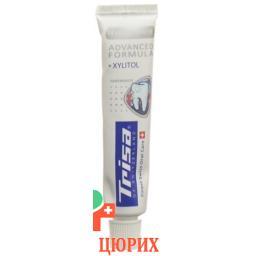 Trisa зубная паста Perfect White в тюбике 15мл