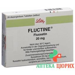 Флуктин 20 мг 28 таблеток