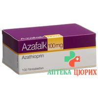 Азафальк 100 мг 100 таблеток покрытых оболочкой