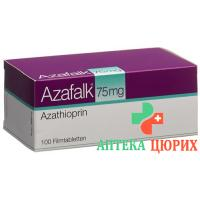 Азафальк 75 мг 100 таблеток покрытых оболочкой