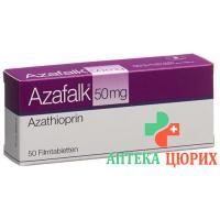 Азафальк 50 мг 50 таблеток покрытых оболочкой