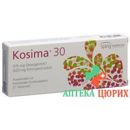 Косима 30 21 таблетка