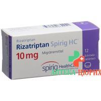 Rizatriptan Spirig 10 mg 12 Schmelztablets