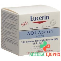 Eucerin AQUAporin Active mit LSF 25 50мл