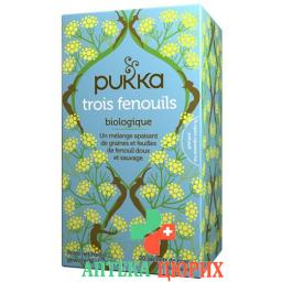 PUKKA TROIS FENOUILS THE BIO