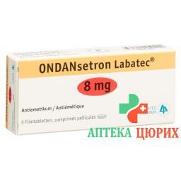 Ондансетрон Лабатек 8 мг 6 таблеток покрытых оболочкой