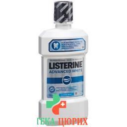 Listerine ополаскиватель для полости рта Advanced White бутылка 500мл