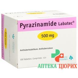 Пиразинамид Лабатек 500 мг 100 таблеток