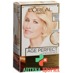 Excellence Age Perfect 10.03 Sehr Helles Goldblond
