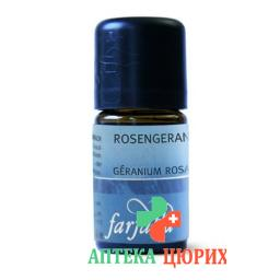 Farfalla Rosengeranie Bourbon эфирное масло Bio 5мл