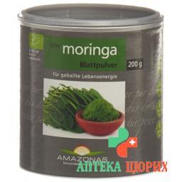 Moringa Bio Blattpulver Pur 200г