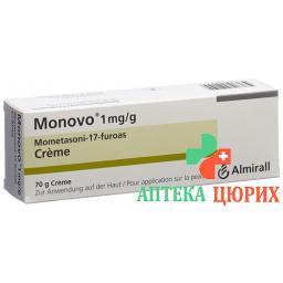Моново крем 1 мг/г 70 г